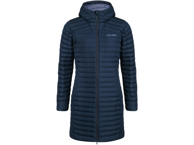 Berghaus Nula Micro Insulated Jacket Long Women, azul